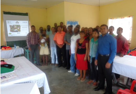 30 East Bank Berbice farmers benefit from training – under CARILED programme