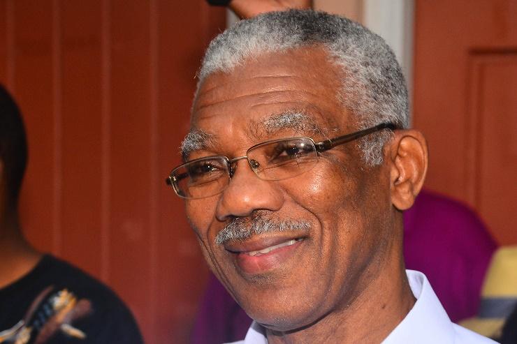 His Excellency David Granger