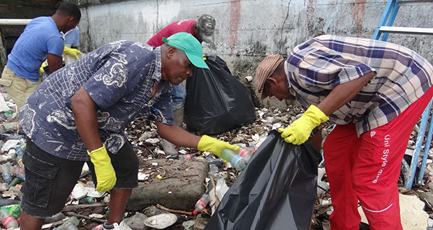 Clean-up progresses in Bartica – Four more communities to benefit