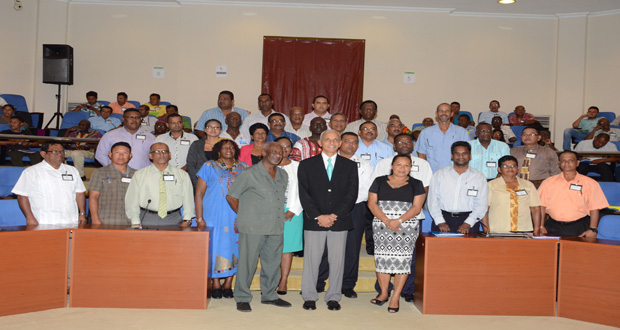 At RDCs leadership forum… Communities Minister urges: 'Cooperation, not confrontation, must characterise our actions, efforts to develop Guyana'