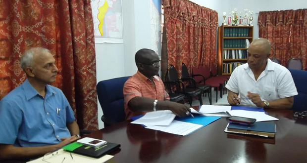 Agreement signed to construct… US$300,000 wastewater treatment plant