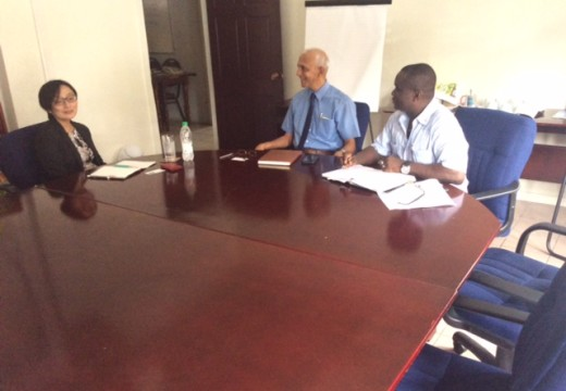 UNDP Rep pays courtesy call on Communities Ministers
