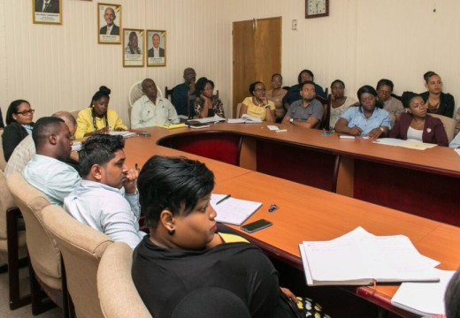 Green Bartica development plan presented to Central Housing and Planning Authority