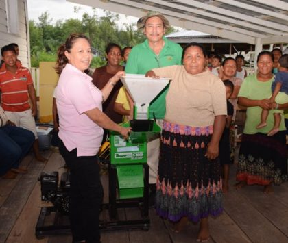 Smyth's Creek residents get cassava mill