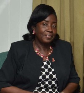 Minister with responsibility for Housing, Valerie Patterson