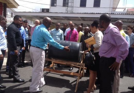 Ministry unveils composting prototype… -New staff appointment announced