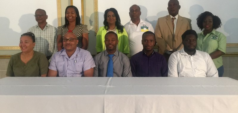 Mayor of Linden Carwyn Holland new president of Guyana Association of Municipalities (GAM)