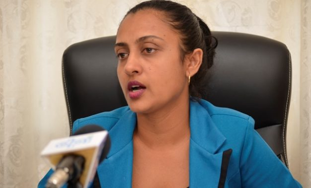 Ministry of Communities, Principal Municipalities Service Officer, Nandrani Harrichand.