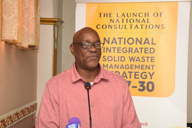 Head of the Sanitation Management Unit, Ministry of Communities, Gordon Gilkes.
