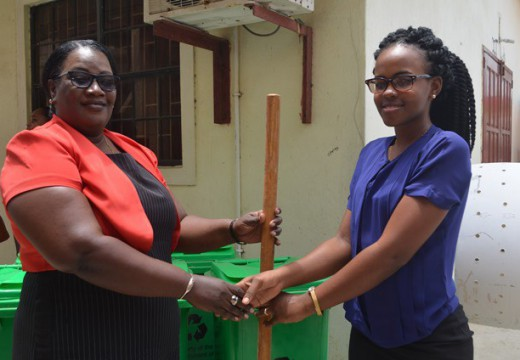 Ann's Grove Students benefit from composting initiative