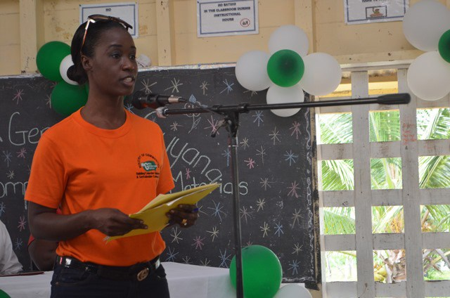 Public Relations Officer (PRO) of the Ministry of Communities, Danielle Campbell-Lowe.