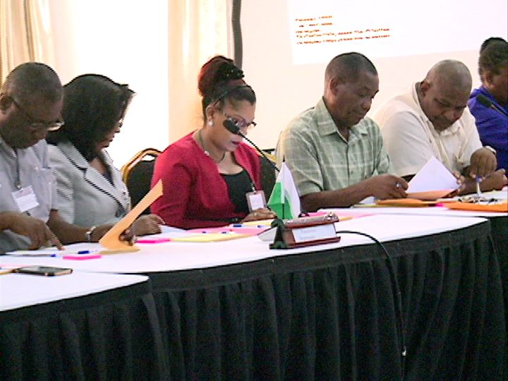 A view of the participants at the Ministry of Communities' Action Roundtable