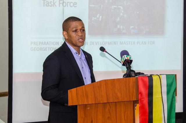 Director, Department of Energy, Dr. Mark Bynoe.