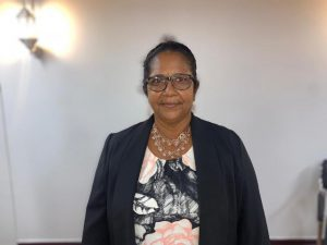 Ms. Vilma DaSilva, the first female Chairperson of the Pomeroon-Supenaam (Region Two) Regional Democratic Council
